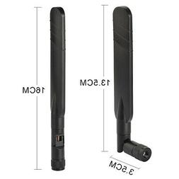 2pcs Replacement 4G LTE SMA Cellular Antenna For D-Link DWR9