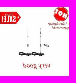 Bingfu 4G LTE 8dBi Magnetic Base MIMO TS9 Antenna 2-Pack for