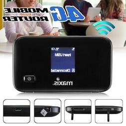 600Mbps 4G LTE Portable WIFI Router Mobile Broadband Hotspot
