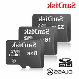 SanDisk Micro SD Card 8GB 16GB 32GB Memory Class 4 Android N