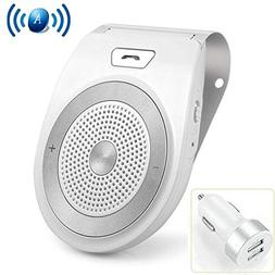 Aigital Bluetooth Car Kit Speakerphone Wireless AUTO Power O