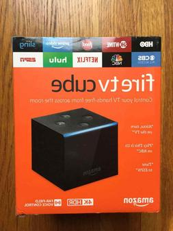 Brand New Amazon Fire TV Cube with Alexa and 4K Ultra HD Str