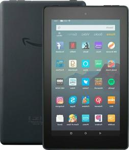 Amazon Fire 7  32GB,  7in - Black - Bundle With Case Include