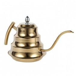 - ASHATA Coffee Pot,Stainless Steel Hand Drip Coffee Pot Lo
