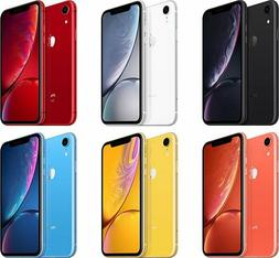 Brand New - Apple iPhone XR 64GB/128GB - Carrier Locked to S