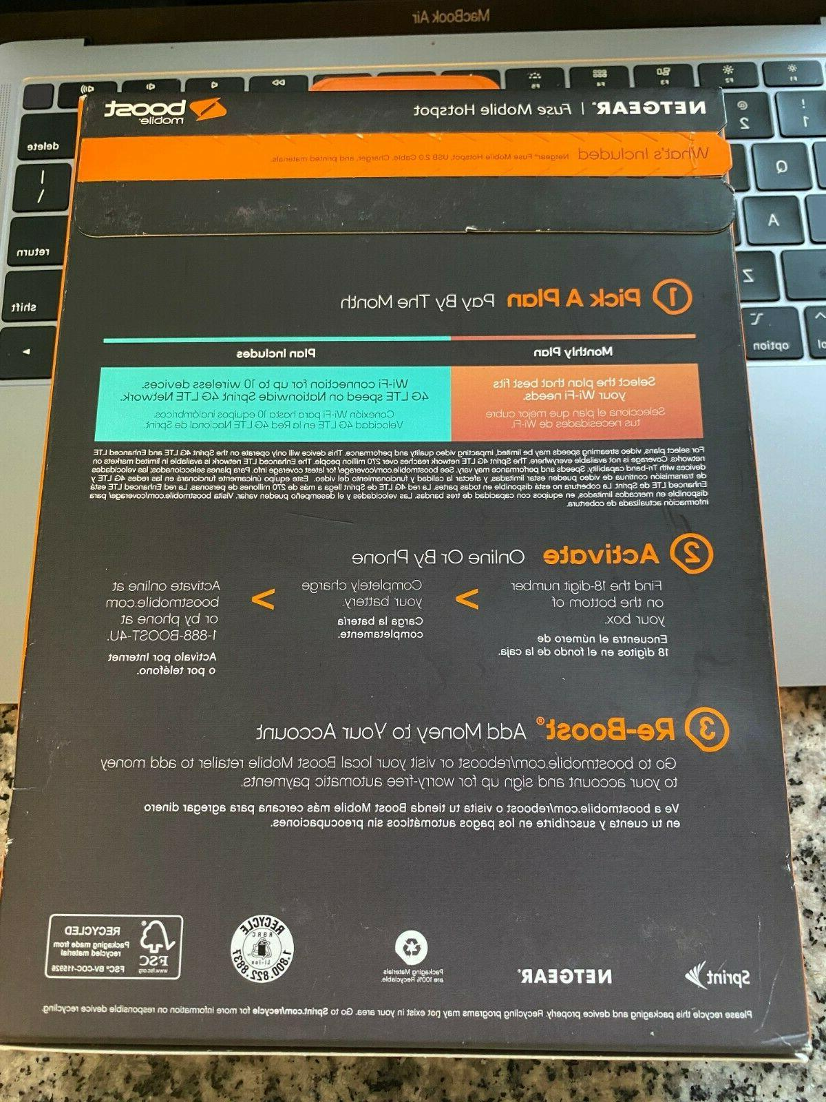 Boost Mobile Wi-Fi 4G LTE Modem BRAND NEW Sealed