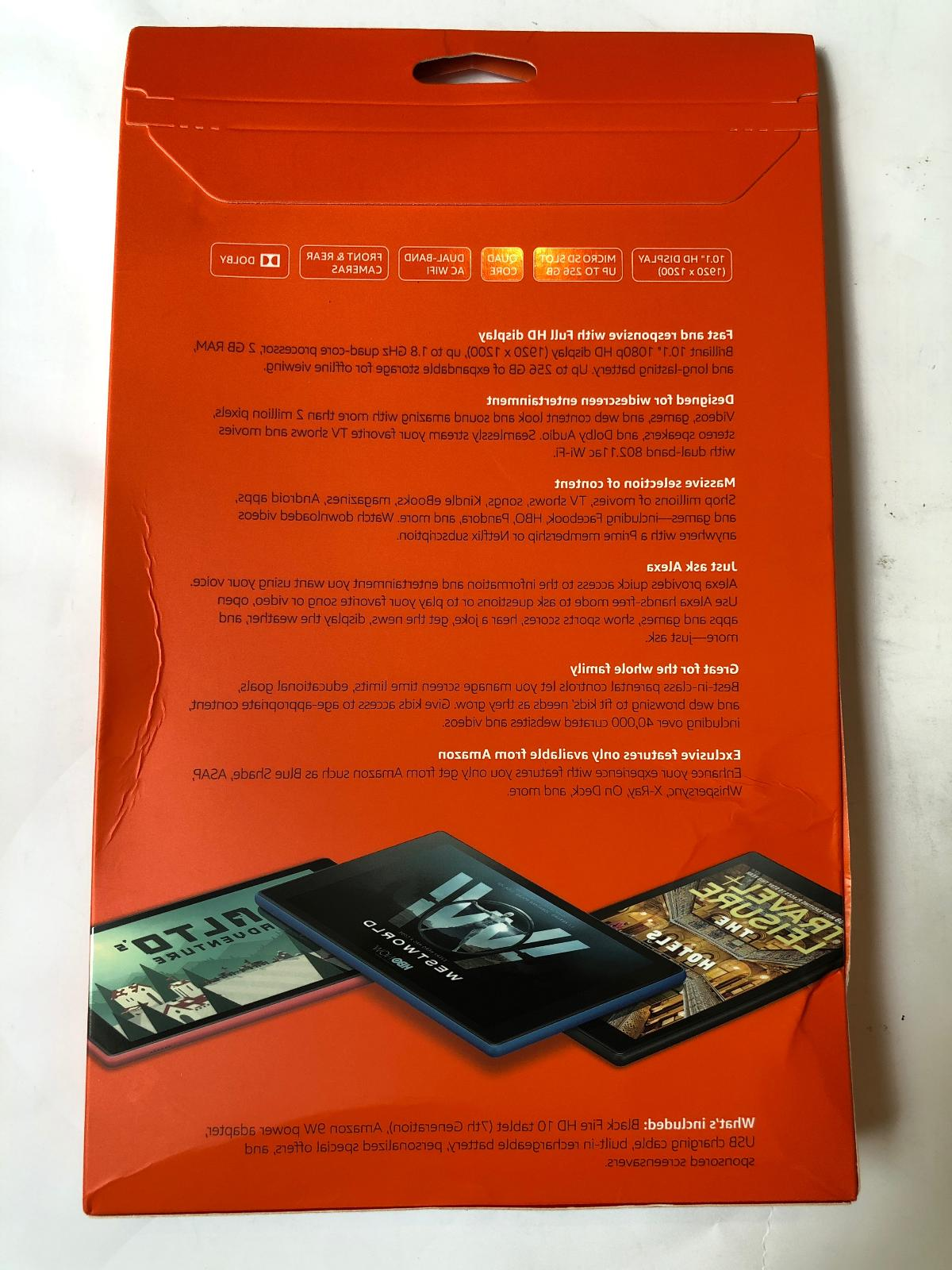 Amazon Fire HD 10 Tablet with 1080p, 32 GB, Generation