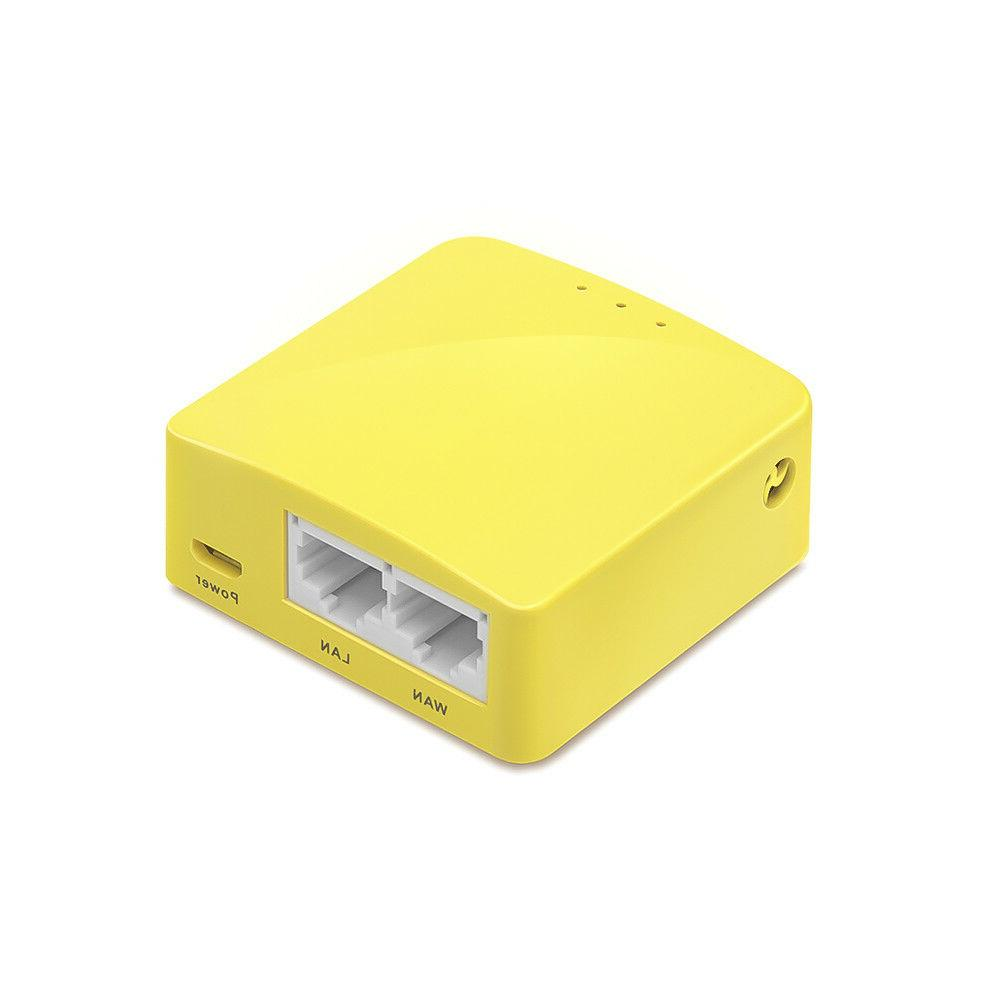 GL-MT300N-V2 router, OpenWrt, Repeater, 300Mbps,