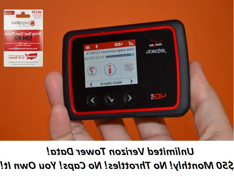 hotspot unlimited data no throttling 50 page