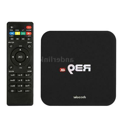 R39 Android 8.1 TV Core 4K WiFi H.265 HD Media