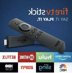 New Amazon Fire TV Stick with Alexa Voice Remote Streaming 2