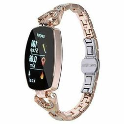 ASHATA Smart Watch Women Smart Bracelet Waterproof IP67 Stee